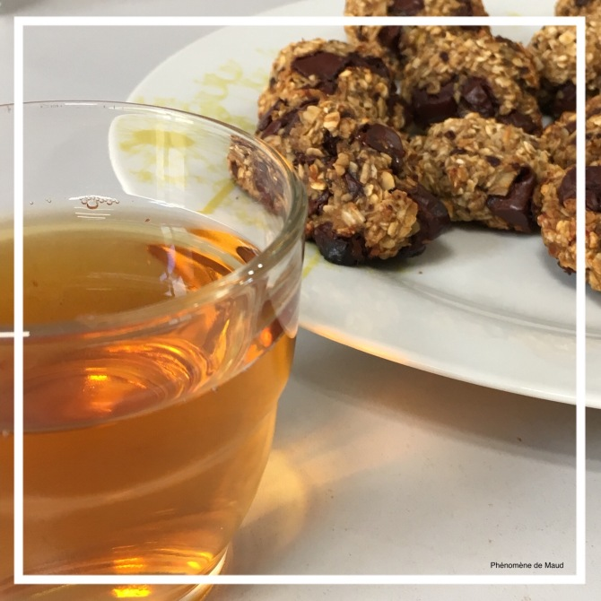 the rooibos et cookies healthy banane avoine chocolat .JPG