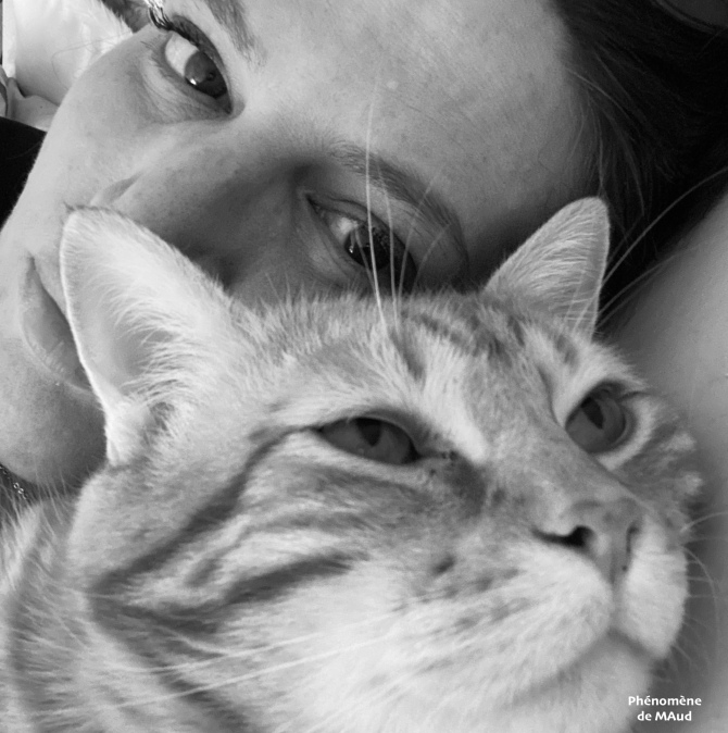 maud et chat