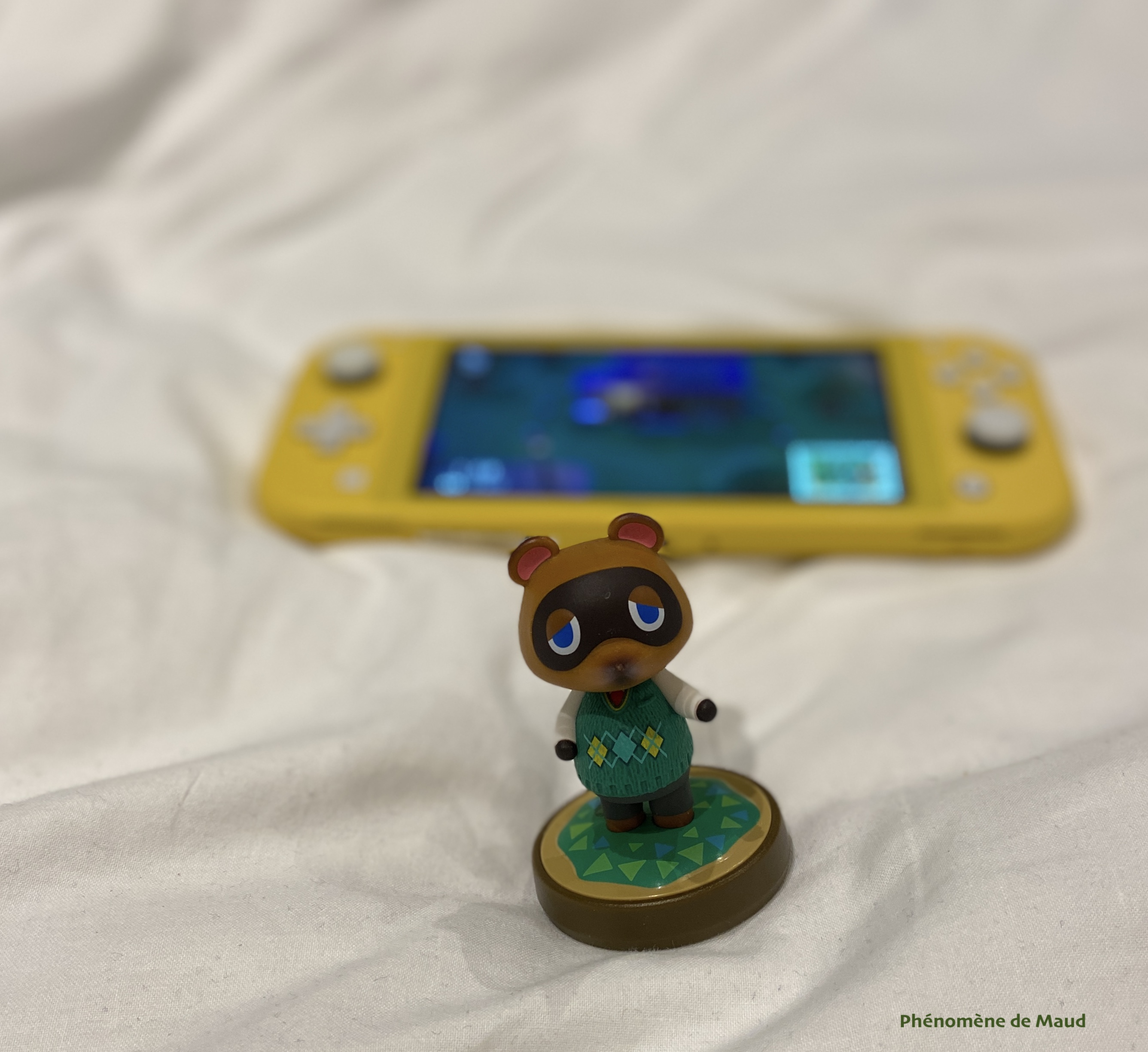 tom nook animal crossing new horizons console