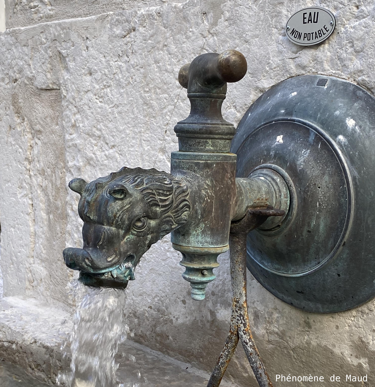 fontaine hôtel Dieu