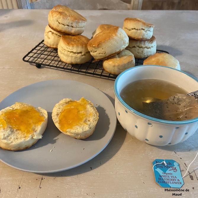 scones et thé