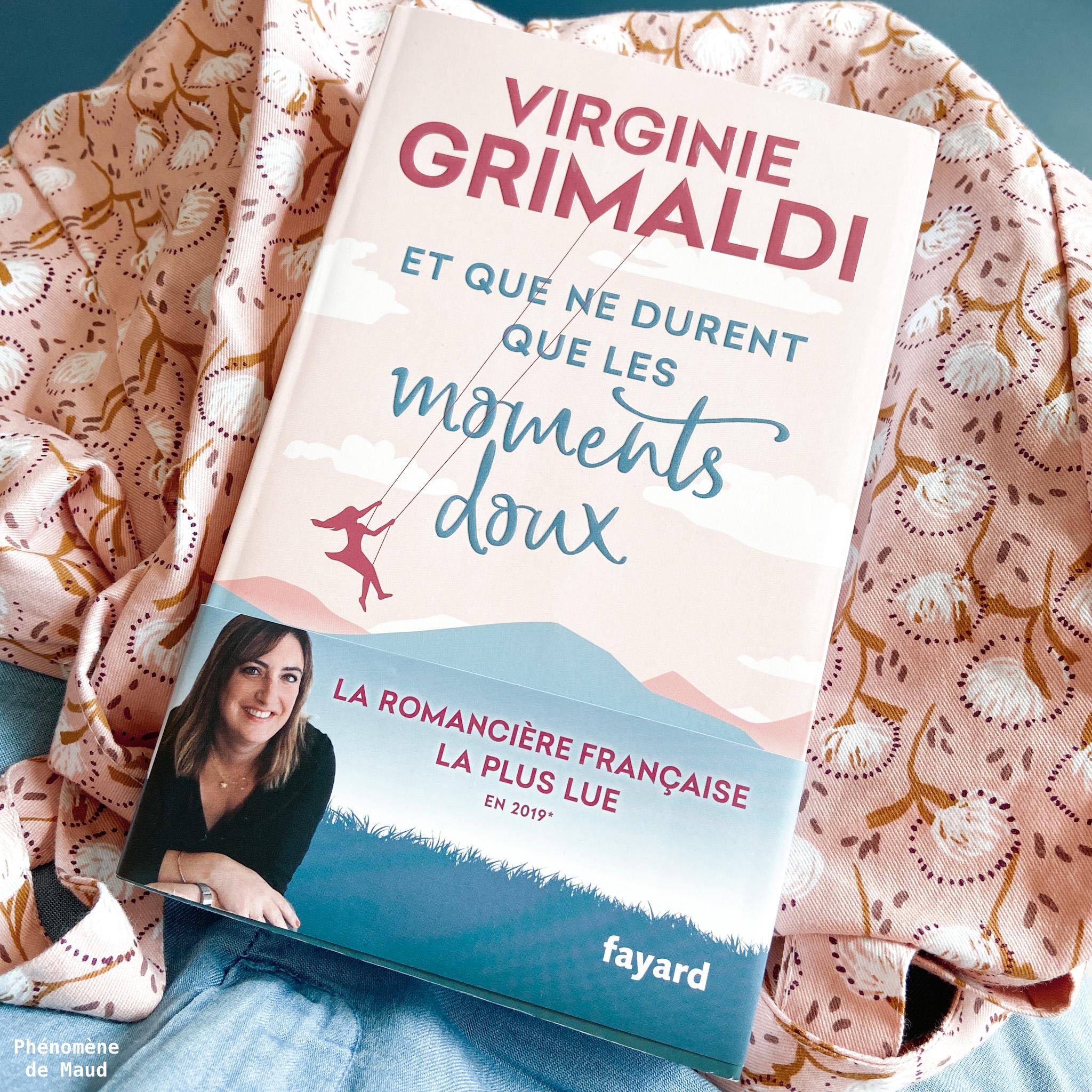 livre Virginie Grimaldi